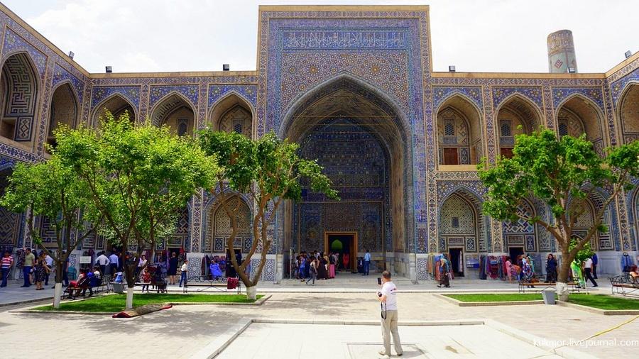 Регистан, фотографии, Самарканд, Узбекистан, Аксанов Нияз, победаоднанавсех, медиаэкспедиция, медресе, панорама