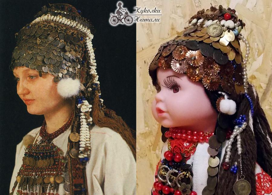 Традиционный костюм терюшевской эрзянки