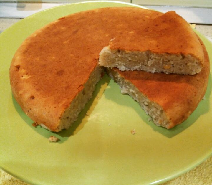 Пирог с яблочным пюре рецепт с пошагово