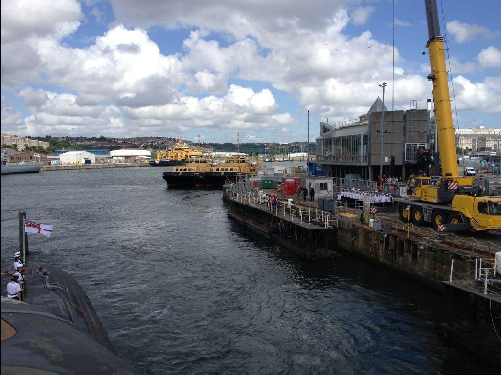 HMS Triumph S93 - 1