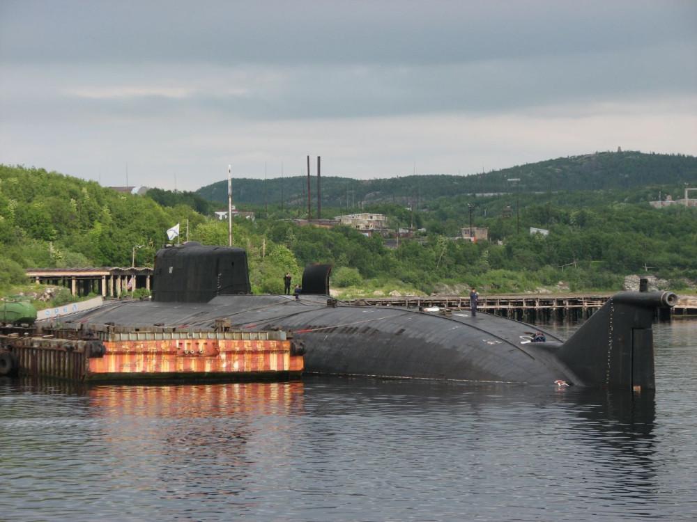 Атомная подводная лодка с крылатыми ракетами. Пр.949А ( К-266) «Орёл» - 1
