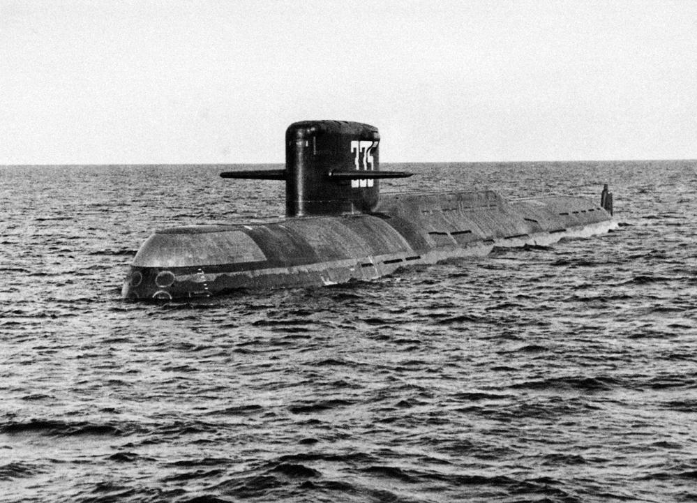 Атомная подводная лодка. Пр.667А.«К-137 Ленинец» - 1