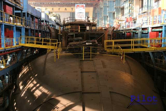 Атомная подводная лодка с крылатыми ракетами. Пр.949УМ ( К-329) «Белгород» - 1