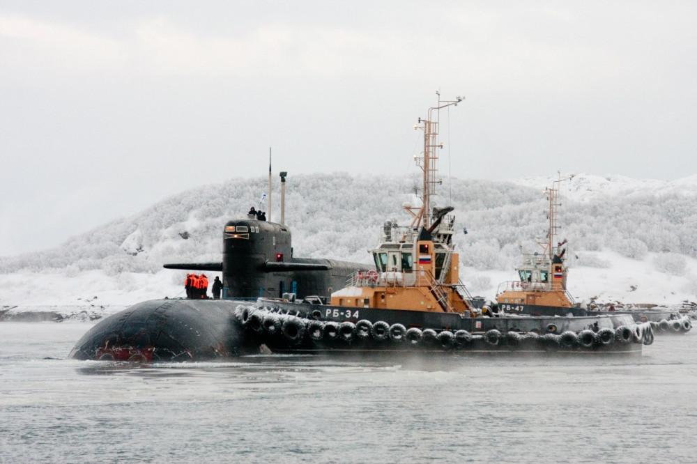 первые подводные лодки возьми северном флоте