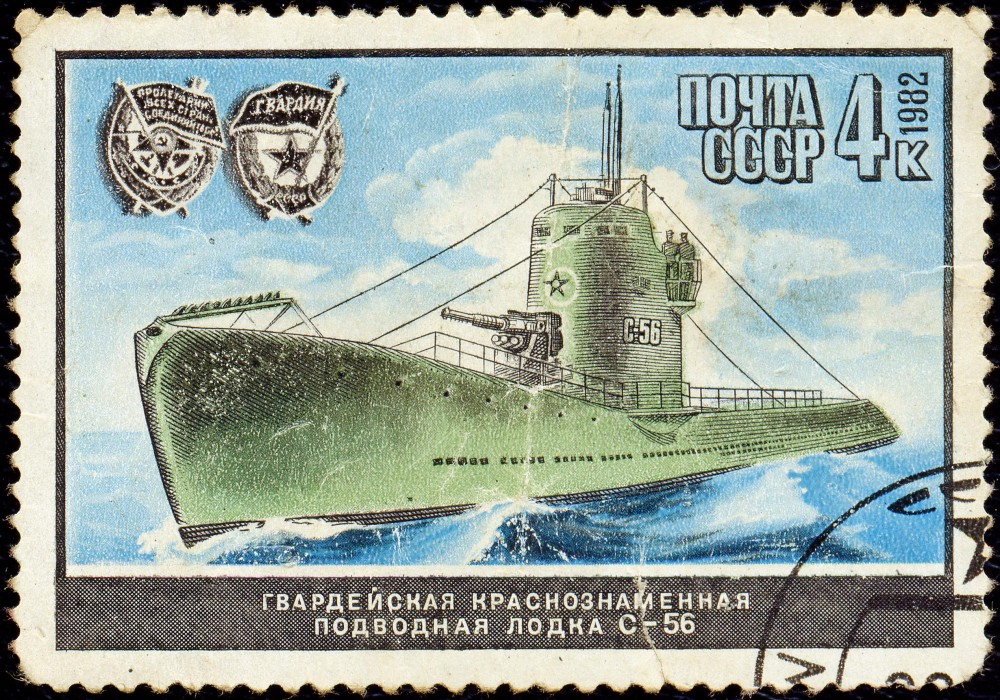 Дизельная подводная лодка. IX-бис серии. (С-56). - 21