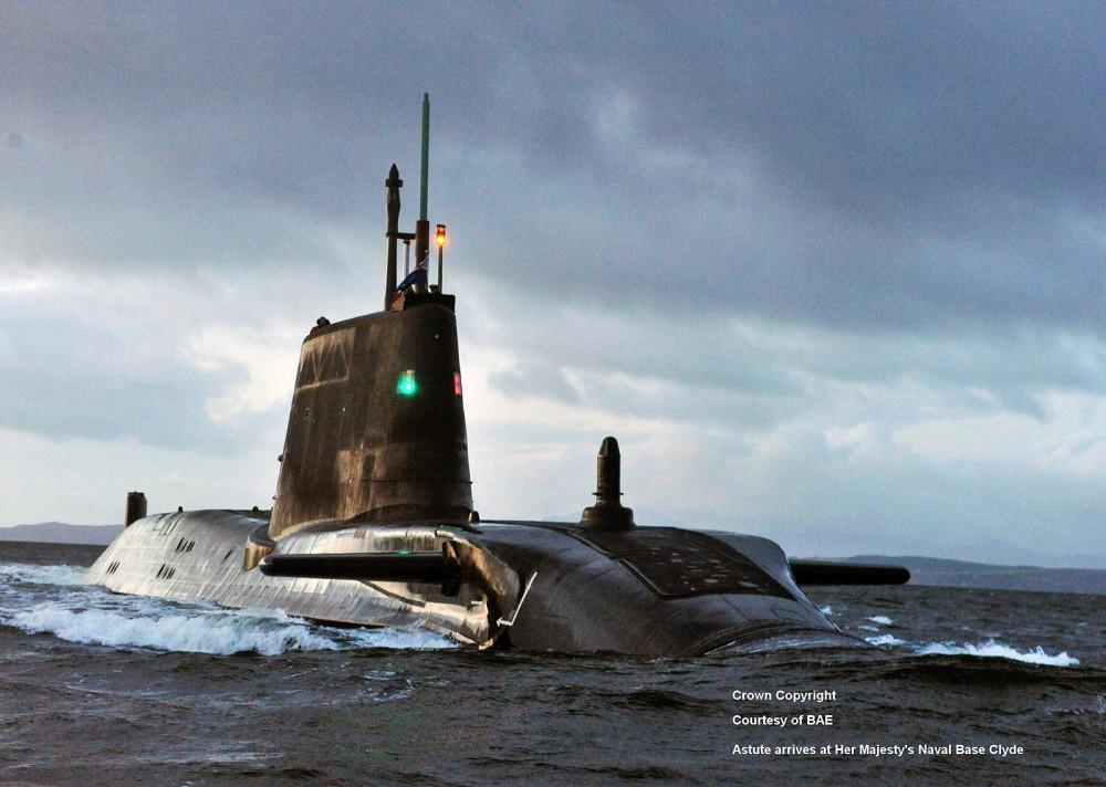 HMS Astute. S119 - 7