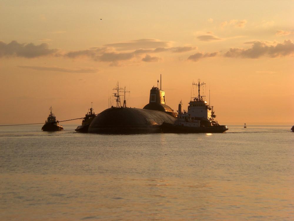 Атомная подводная лодка. Пр.941. (ТК-17).«Архангельск» - 2
