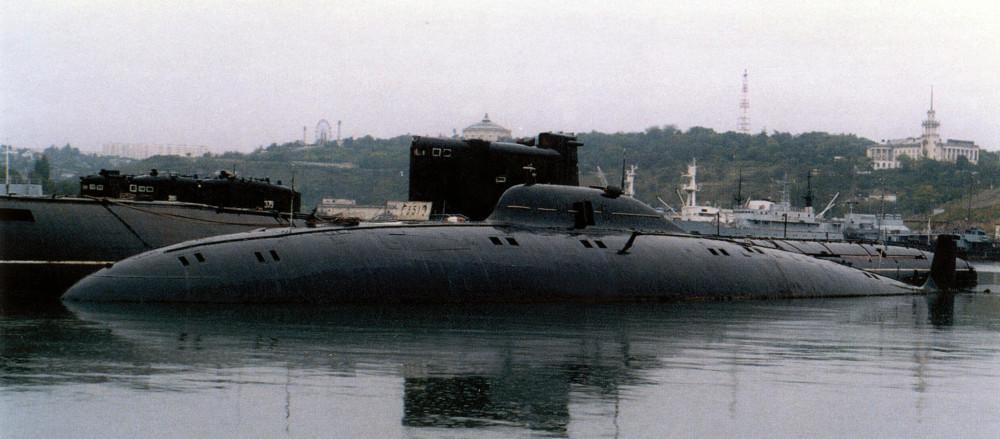Научно-исследовательская подводная лодка. Пр.1710.«СС-533» - 1