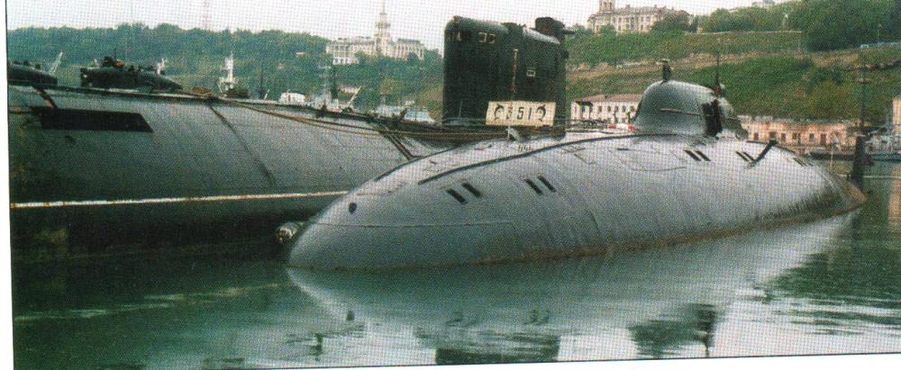 Научно-исследовательская подводная лодка. Пр.1710.«СС-533» - 4