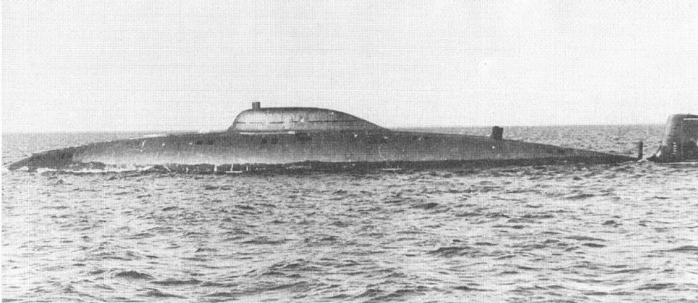 Научно-исследовательская подводная лодка. Пр.1710.«СС-533» - 5