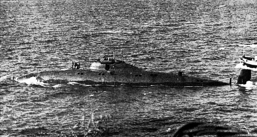 Научно-исследовательская подводная лодка. Пр.1710.«СС-533» - 8