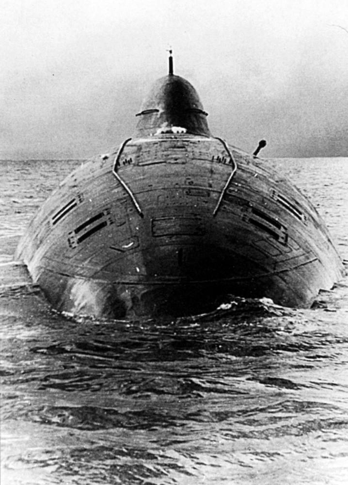 шум наших подводных лодок