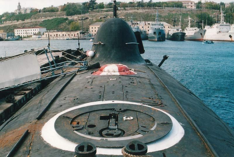 Научно-исследовательская подводная лодка. Пр.1710.«СС-533» - 13