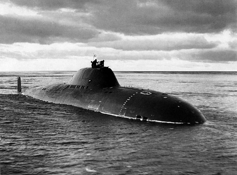 Подводная лодка-истребитель. Пр.705.«К-64» - 11