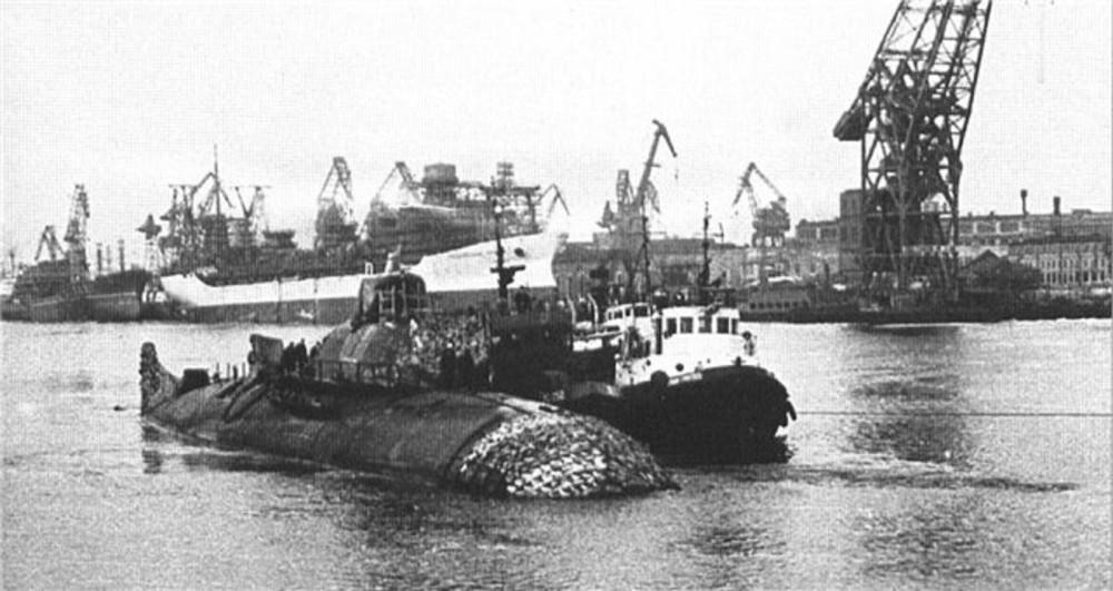 Подводная лодка-истребитель. Пр.705.«К-64» - 5