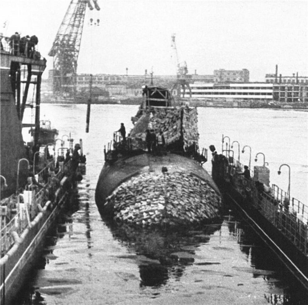 Подводная лодка-истребитель. Пр.705.«К-64» - 6
