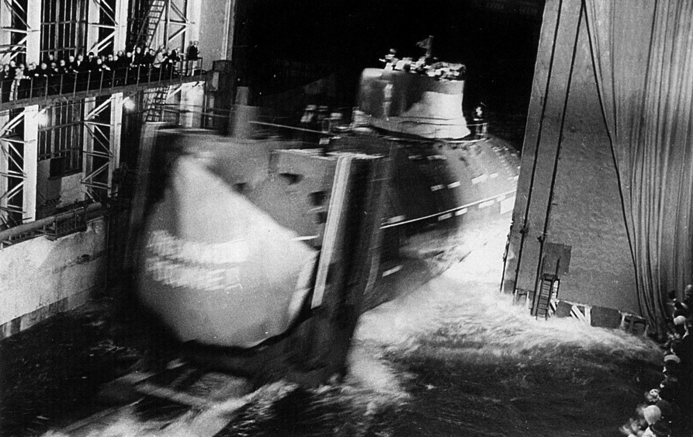 Подводная лодка-истребитель. Пр.705.«К-64» - 10