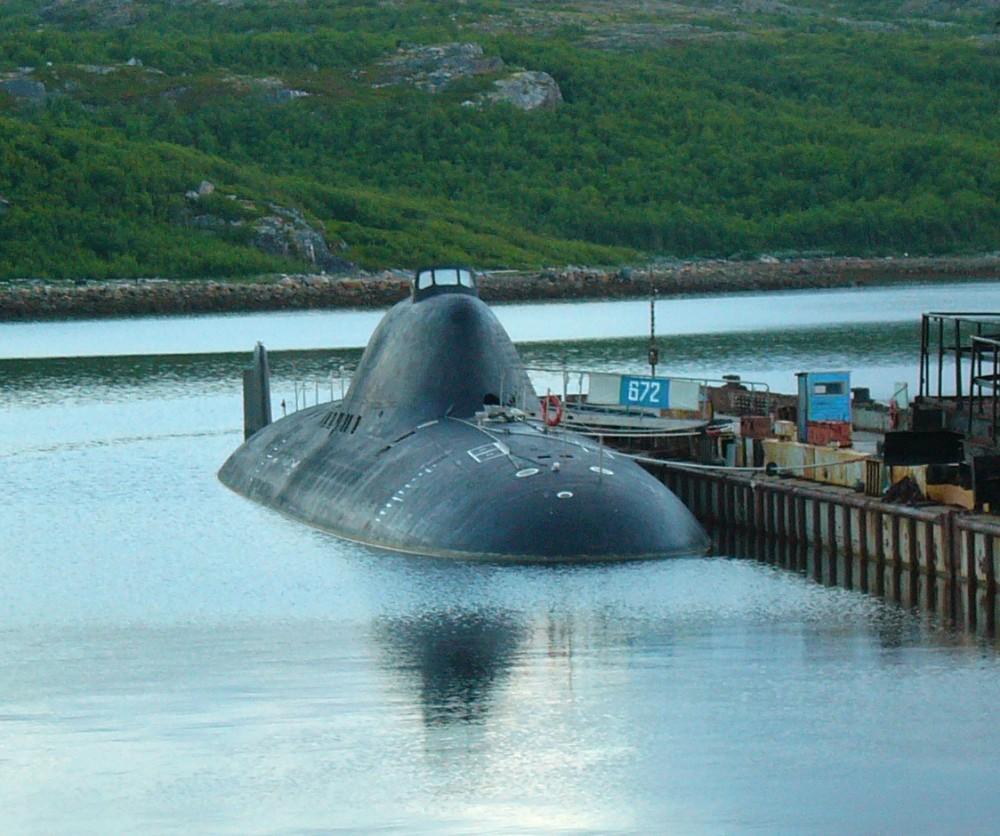 Подводная лодка-истребитель. Пр.705.«К-373» - 1