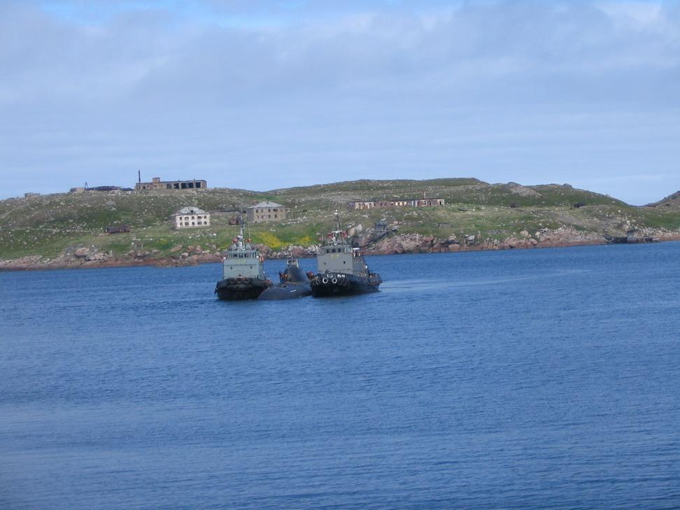 Подводная лодка-истребитель. Пр.705.«К-373» - 2