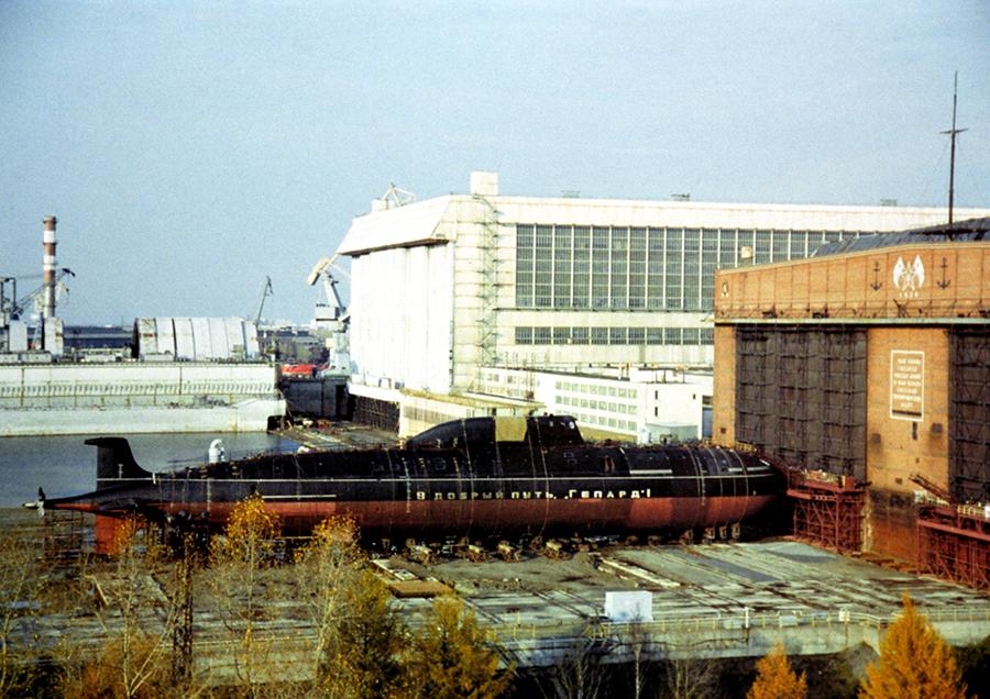 Атомная подводная лодка. Пр.971М. (К-335).  «Гепард» - 14 copy