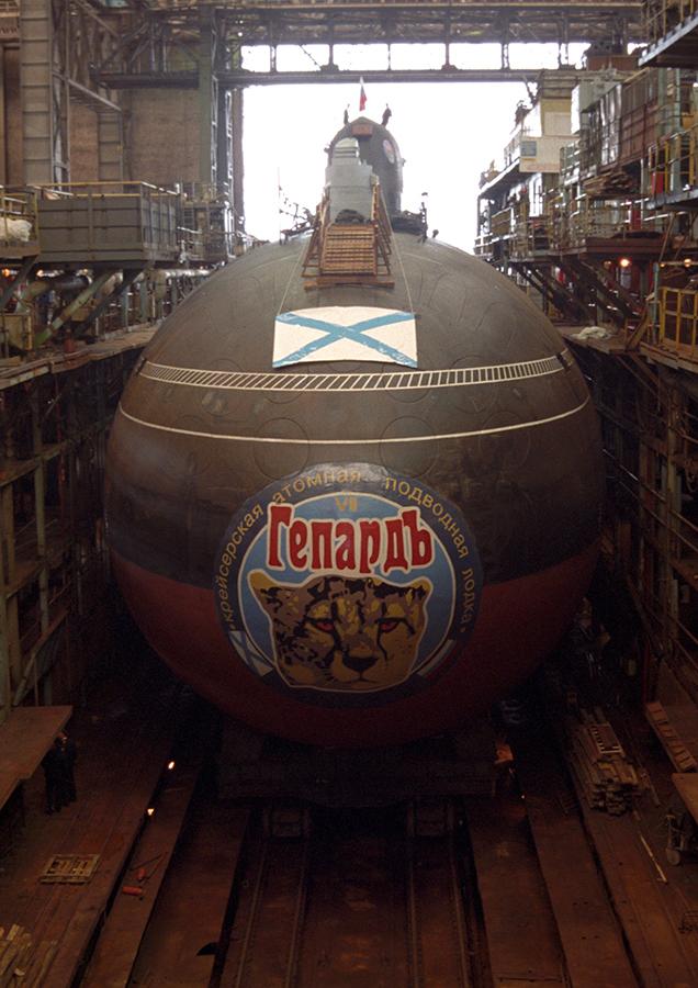 Атомная подводная лодка. Пр.971М. (К-335).  «Гепард» - 12 copy
