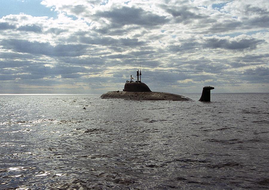 Атомная подводная лодка. Пр.971М. (К-335).  «Гепард» - 10 copy