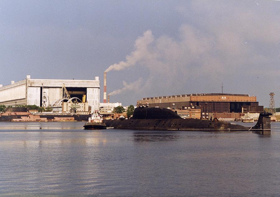 Атомная подводная лодка. Пр.971М. (К-335).  «Гепард» - 9 copy
