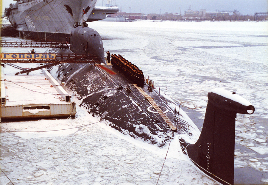 Атомная подводная лодка. Пр.971М. (К-335).  «Гепард» - 7 copy