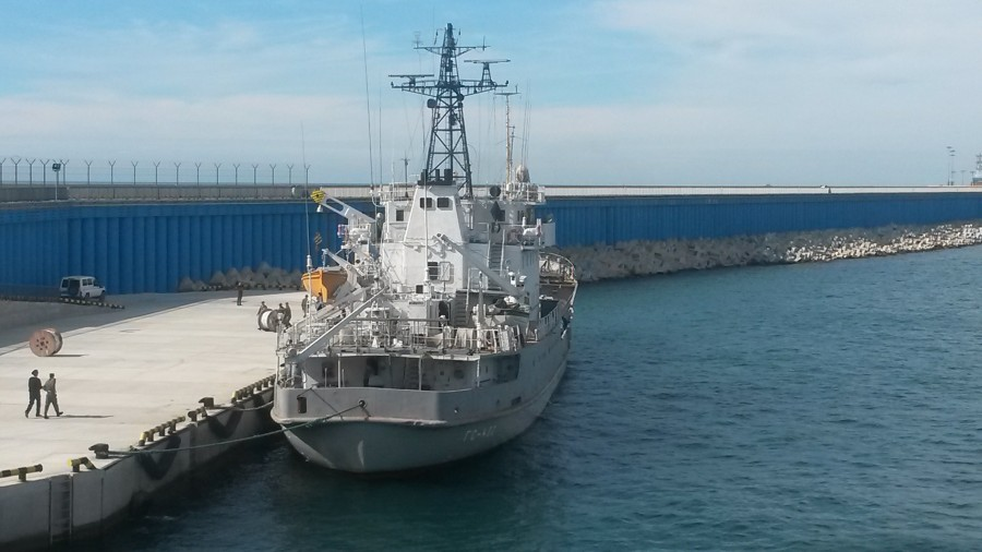 ГС-402 в Имеретинском порту