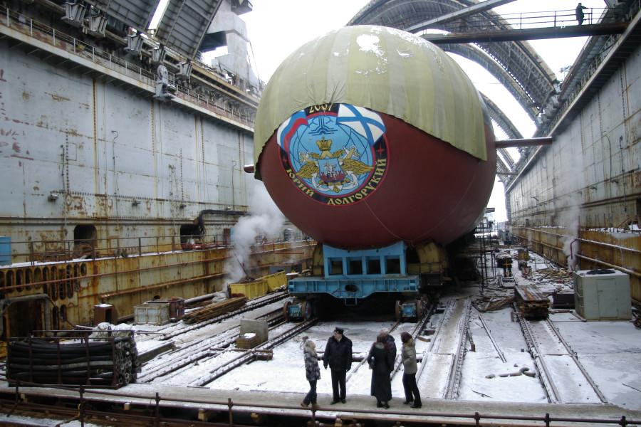 Атомный подводный крейсер стратегического назначения. Пр.955.«Юрий Долгорукий» - 1