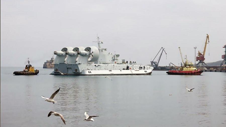 Малый десантный корабль на воздушной подушке. Пр.958.«» - 2