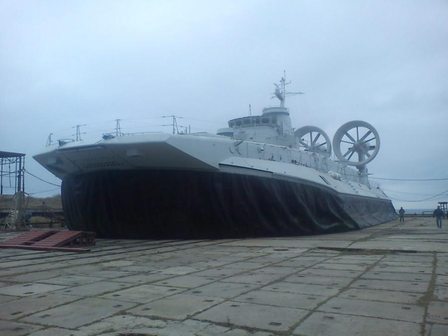 Малый десантный корабль на воздушной подушке. Пр.958.«» - 3