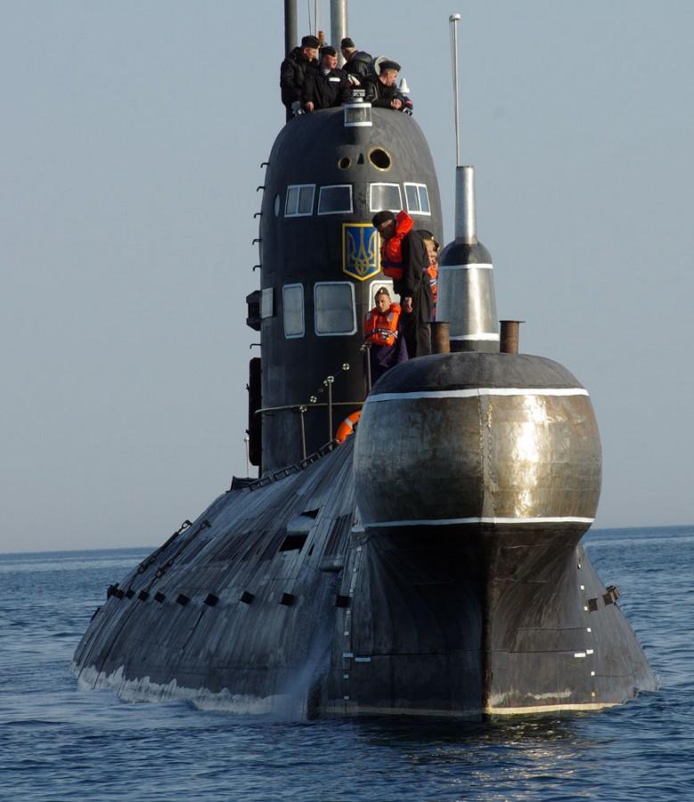 Дизель-эллектрическая подводная лодка. Пр.641. (U-01).«Запорожье» - 1