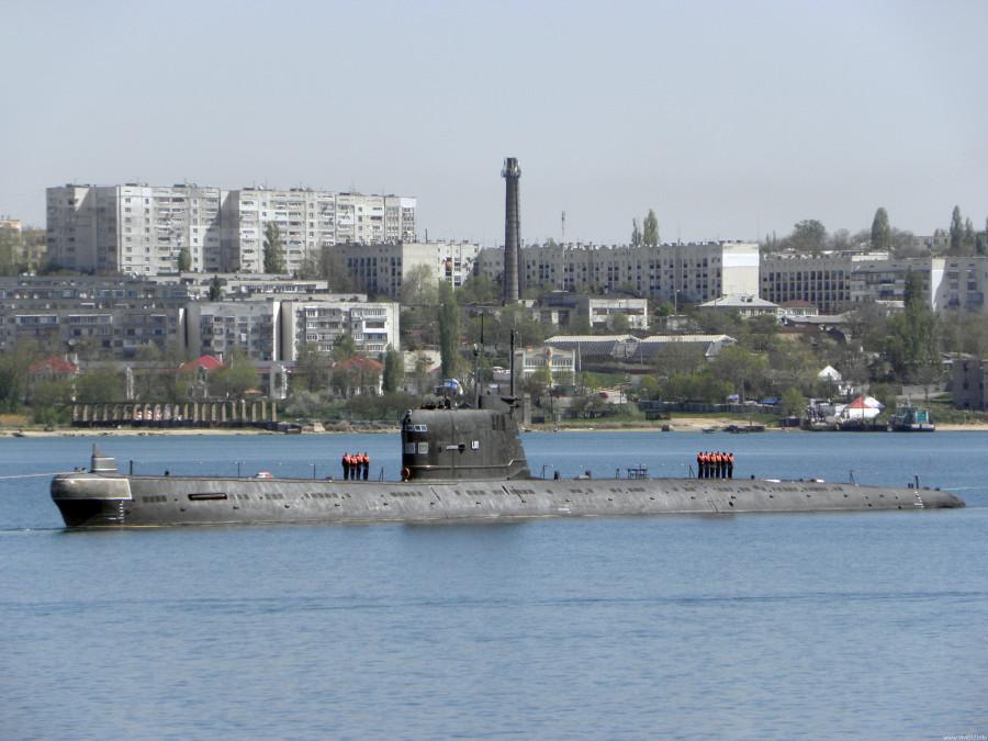 Дизель-эллектрическая подводная лодка. Пр.641. (U-01).«Запорожье» - 3
