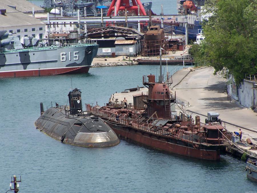 Дизель-эллектрическая подводная лодка. Пр.641. (U-01).«Запорожье» - 5