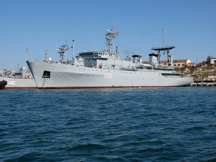 Большой разведывательный корабль. Пр.12884. «Славутич» - 1