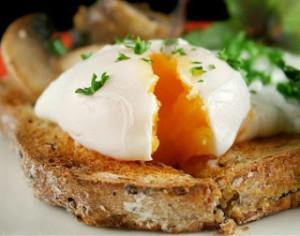Яйца пашот по-английски