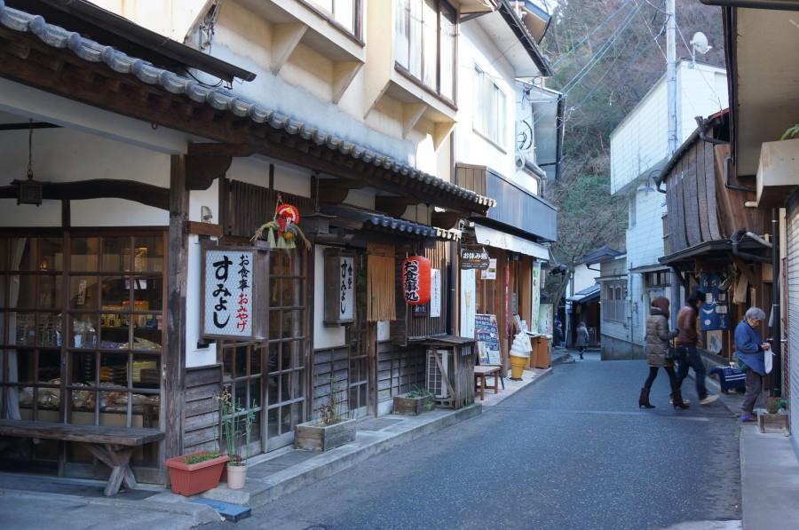 Kurokawa-spa streets