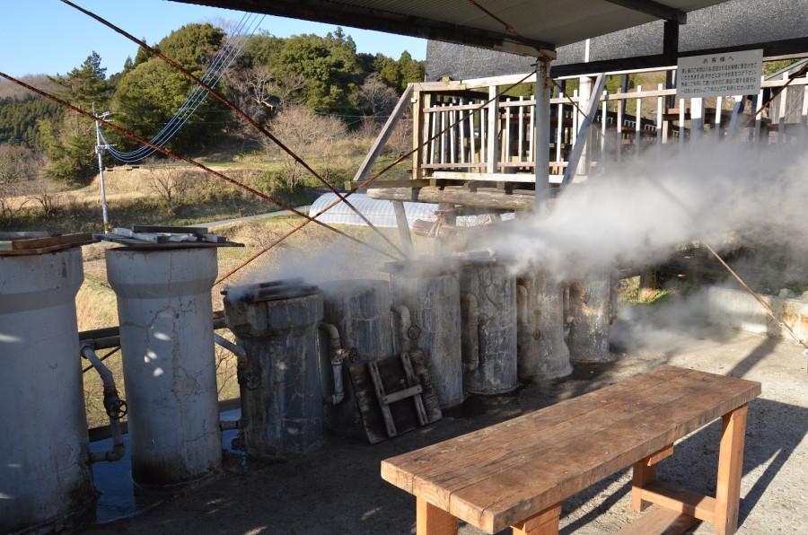 Oguni-machi, waita hot springs