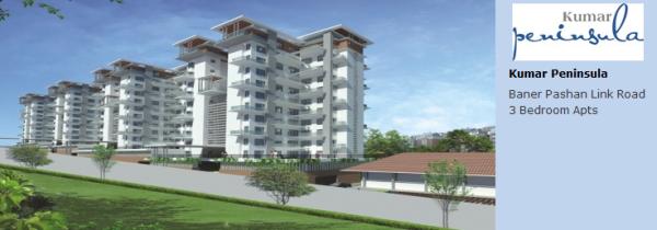 Apartments and Flats Baner by Kumar Properties - Kumar Peninsula