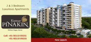 Pinakin 3 and 4 BHK flats in Banner