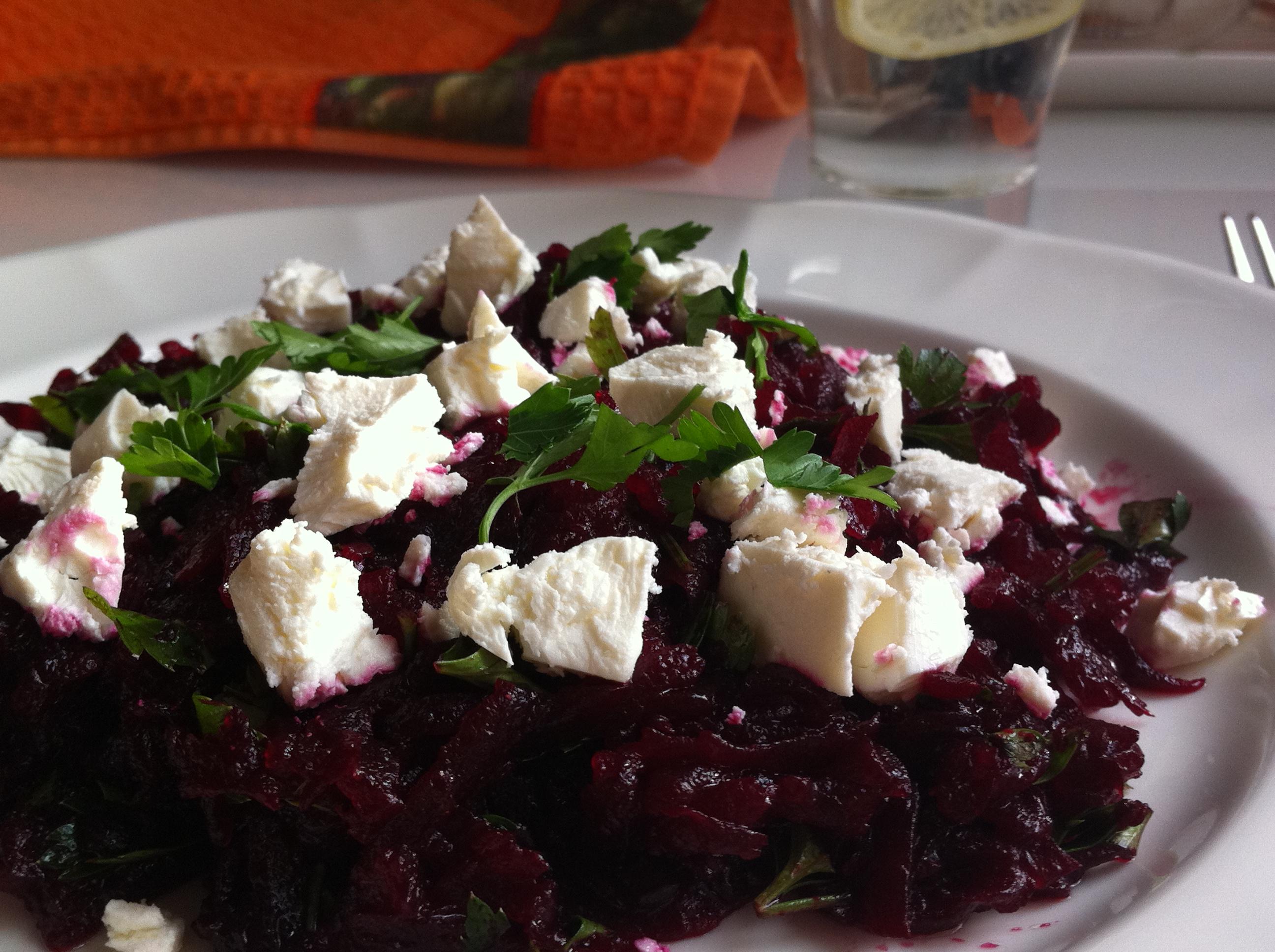 Салат из свеклы с фетой рекомендации
