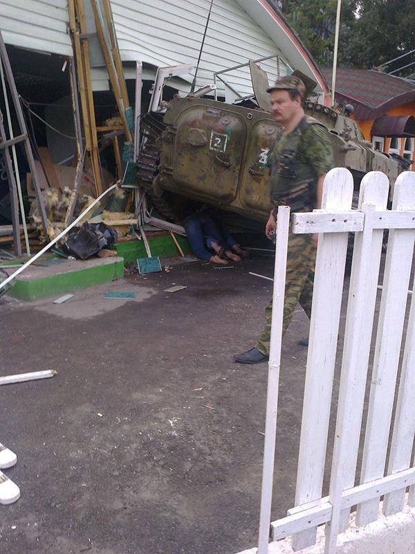 Пьяные российские оккупанты спровоцировали на Донбассе ДТП с пострадавшими, - разведка - Цензор.НЕТ 1021