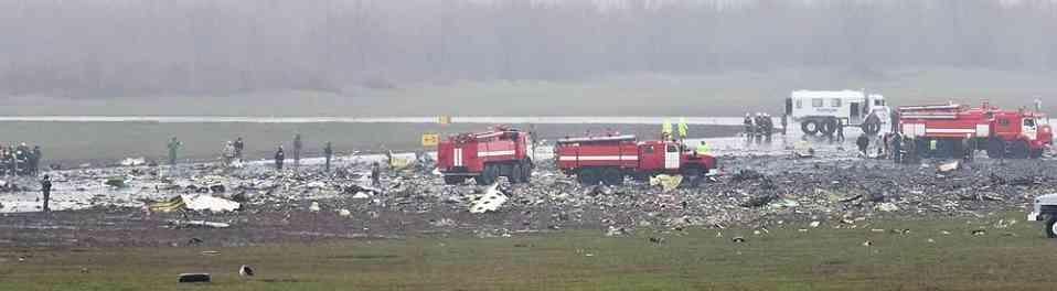 Падения самолета Боинг 737 в Ростове не было