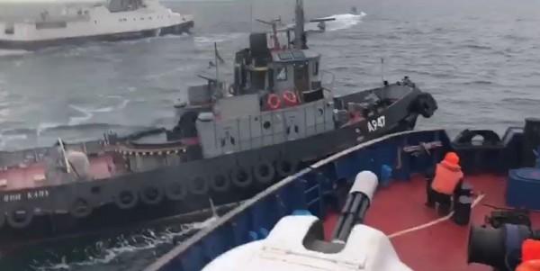 Кто на кого напал в Черном море (аццкий срыв покровов)