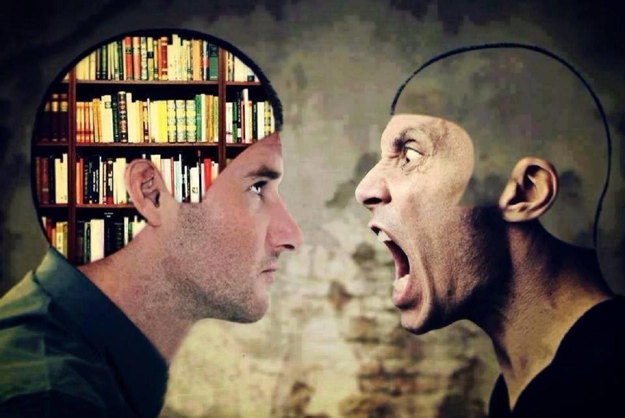 Чем умный отличается от идиота?