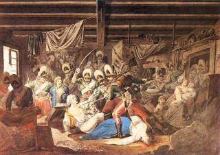 Так геббельсовцы XVIII столетия живописали штурм Праги