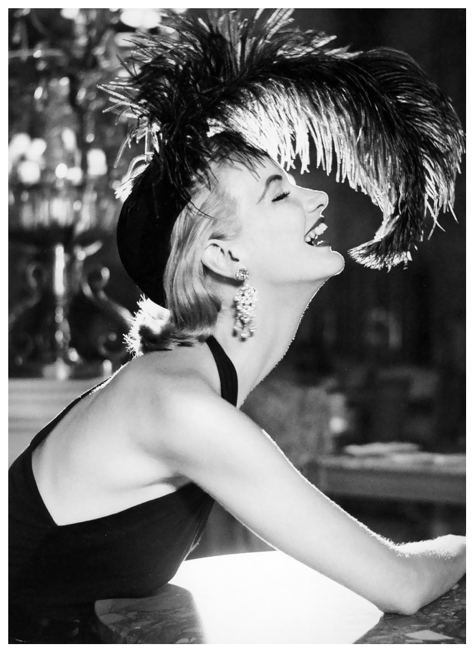 sunny-harnett-dress-by-traina-norell-hat-by-walter-florell-photo-by-avedon-paris-july-1951