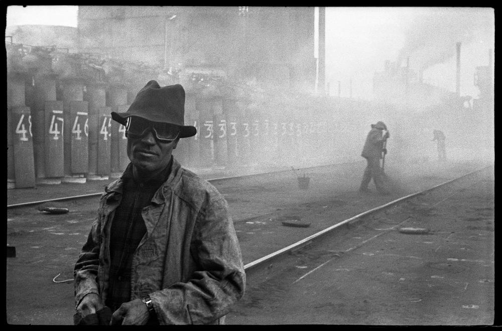020 Владимир Соколаев Портрет люкового в шляпе. КМК. Новокузнецк. Июнь 1977