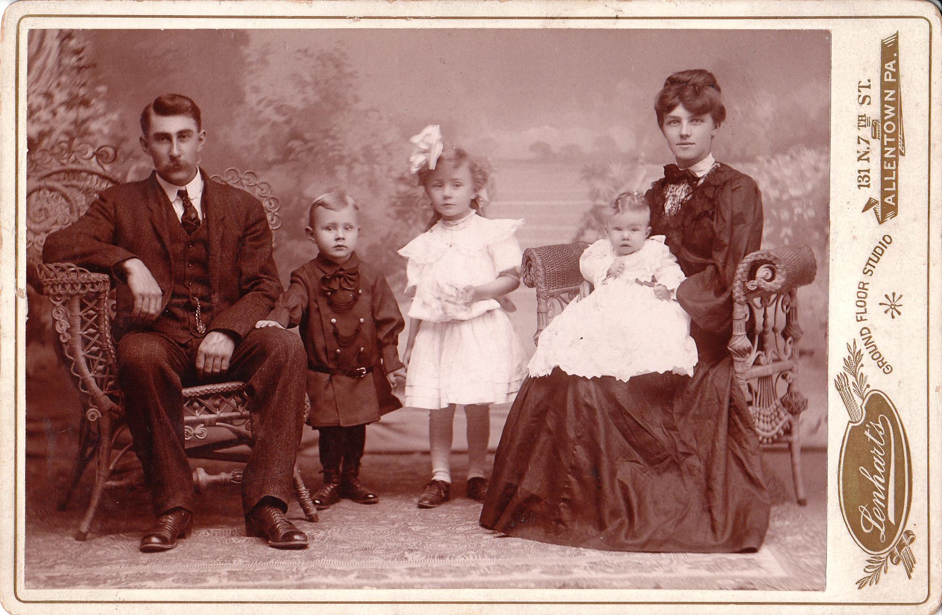 История семьи открытки, введение храм